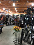Interior of a nice professional flower  store Royalty Free Stock Photos