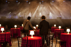 Interior of a night club, Royalty Free Stock Image