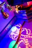 Interior of a nightclub Stock Photos