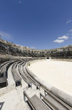 Interior of Nimes Arena in Southern France Royalty Free Stock Photo