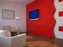 interior nio ställde in tjugo Fotografering för Bildbyråer