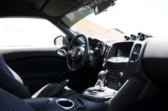 Interior of Nissan Z Royalty Free Stock Image