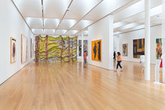 Interior of North Carolina Museum of Art Royalty Free Stock Photo