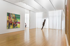 Interior of North Carolina Museum of Art Royalty Free Stock Photography