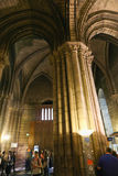 Interior of Notre-Dame Cathedral Royalty Free Stock Image