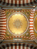 Interior of Notre-Dame de la Garde Royalty Free Stock Image
