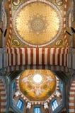 Interior of Notre-Dame de la Garde Stock Photo