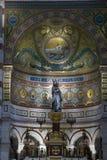 Interior of Notre Dame de la Garde Stock Photography