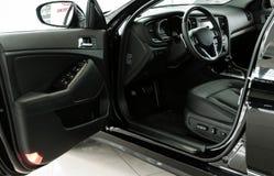 Interior novo do carro Fotografia de Stock