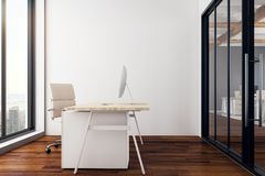 Interior novo do escritório Fotos de Stock Royalty Free