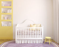 Interior of nursery. Stock Photos