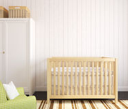 Interior of nursery. Royalty Free Stock Photography