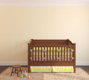 Interior of nursery. Stock Photography