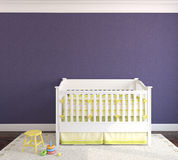 Interior of nursery. Stock Images