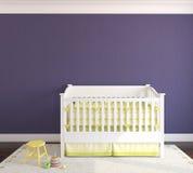 Interior of nursery. Stock Images