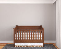 Interior of nursery. Stock Photos