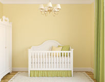 Interior of nursery. Royalty Free Stock Photo