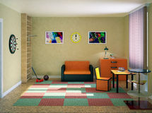 The interior of the nursery Royalty Free Stock Photography