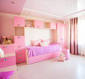 Interior nursery for girl Stock Photography