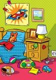 Interior nursery Royalty Free Stock Images