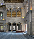 Interior of Nuruosmaniye Mosque, Istanbul, Turkey Royalty Free Stock Images