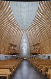 Interior of Oakland Cathedral of Christ the Light Royalty Free Stock Photos