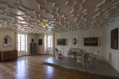 Interior of Oberhofen Castle, Switzerland stock photos