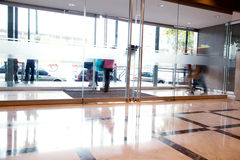 Interior ocupado do edifício Foto de Stock Royalty Free
