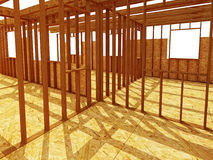 Interior od construction site Stock Image