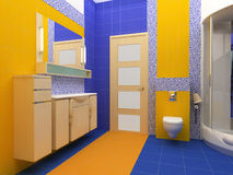 Free Interior Of A Bathroom Stock Photography - 5510272