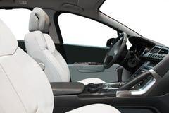 Interior Of A Car Stock Photo