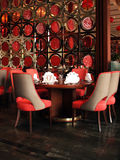 Interior Of A Chinese Restaurant Stock Images