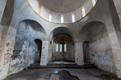 Interior Of A Deserted Orthodox Christian Church Stock Image