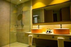 Interior Of A Hotel Bathroom Royalty Free Stock Photo