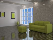 Interior Of A Room Royalty Free Stock Photography