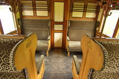 Free Interior Of Ancient Steam Train Stock Photos - 54559433