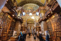 Free Interior Of Austrian National Library Royalty Free Stock Photo - 133555265