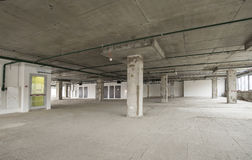 Free Interior Of Business Center Under Construction Royalty Free Stock Photography - 36736637