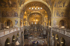 Free Interior Of Cathedral At St Mark S Basilica Royalty Free Stock Photos - 12979808