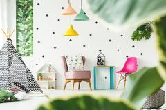Free Interior Of Children`s Room Stock Image - 113055901