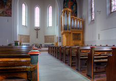 Free Interior Of Church Stock Photography - 10069152
