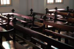 Interior Of Church Royalty Free Stock Images