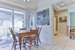 Interior Of Dining Room Royalty Free Stock Photo