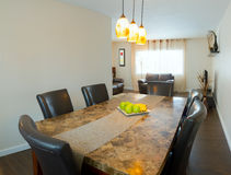 Interior Of Dining Room Stock Image