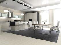 Free Interior Of Kitchen Stock Photo - 8120160