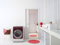 Interior Of Luxury Laundry Room L Royalty Free Stock Photos
