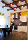 Interior Of Modern Kitchen Royalty Free Stock Images