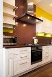 Interior Of Modern Kitchen Royalty Free Stock Photos