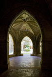 Interior Of Monastery Of Veruela Royalty Free Stock Photos