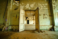 Free Interior Of Old Factory Stock Photography - 17457142